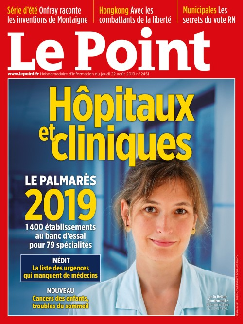 Palmarès 2019 – Hôpitaux et cliniques